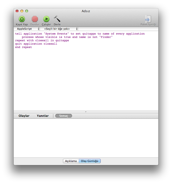 Applescript repeat while true
