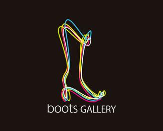 Ayakkabı Temalı Logolar - 9