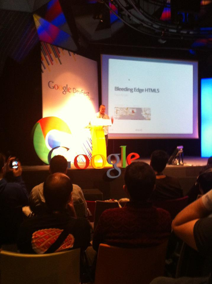 Google Chrome Dev Fest