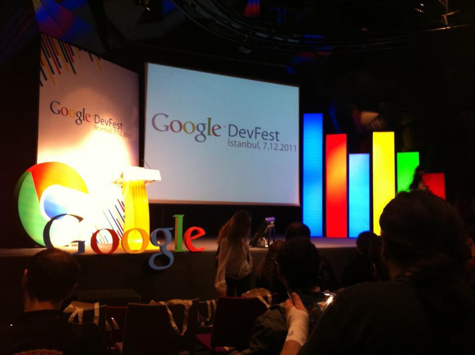 Google Chrome Dev Fest İstanbul