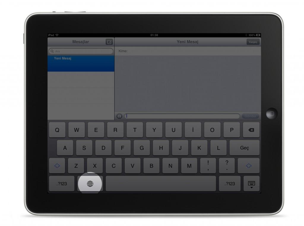 iOS Emoji Klavye