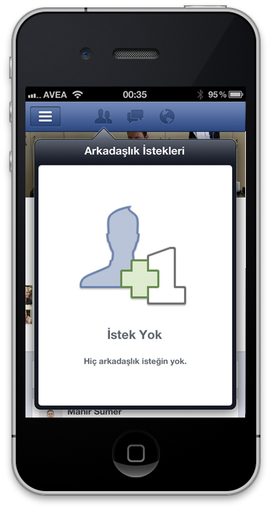 Facebook Timeline iPhone App