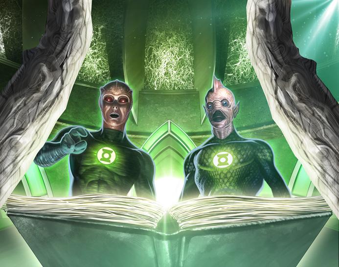 Renee - Green Lantern