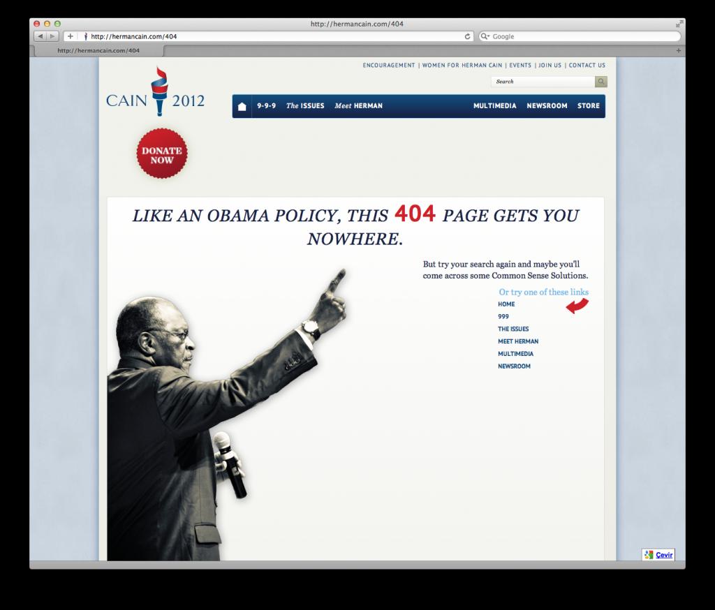 404 Hata Sayfaları