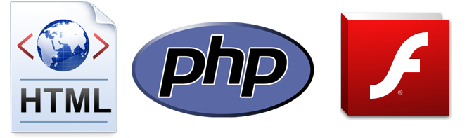 HTML, PHP ve Flash