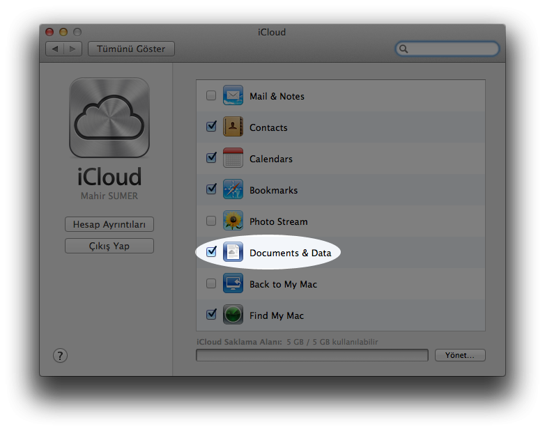 iCloud Sync Mobile & Documents