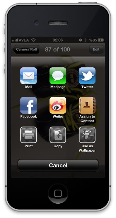 iOS6 Fotoğraf Paylaşımı