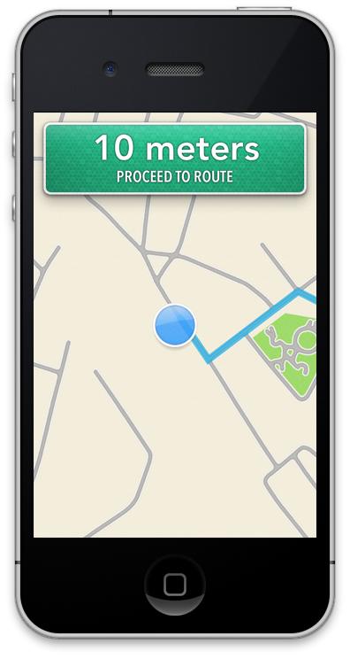 iOS6 Navigasyon