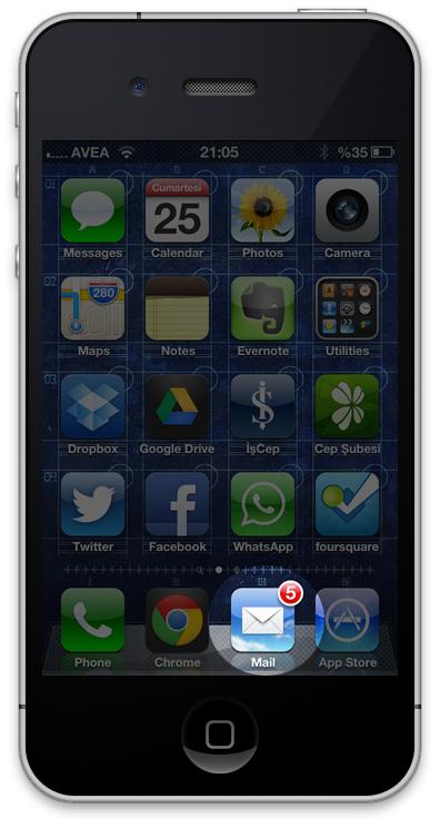 iPhone Ekran Görüntüsü