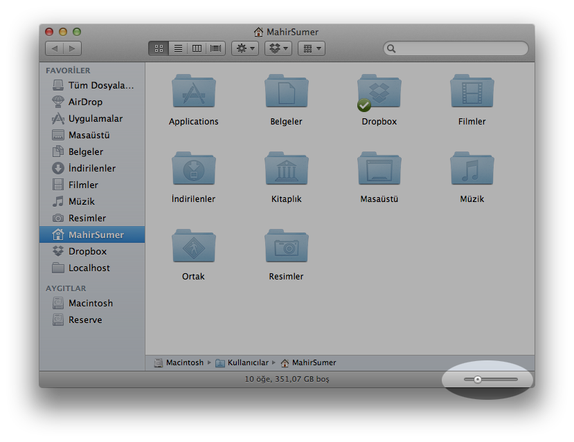 Finder Icon Size