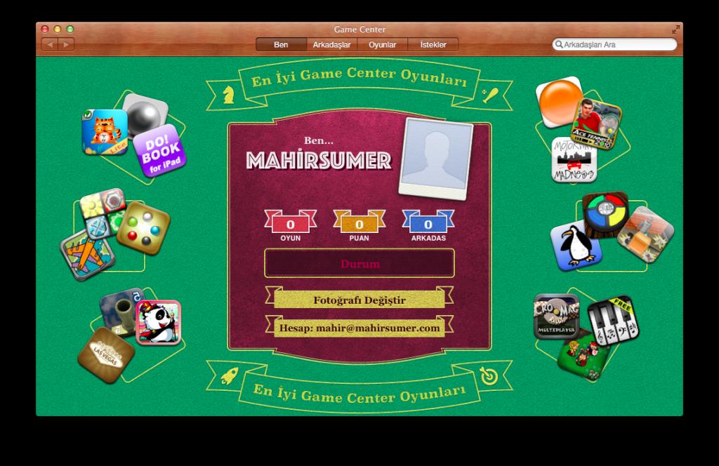 Mountain Lion Game Center