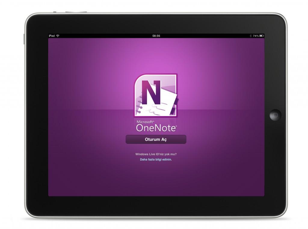 Microsoft OneNote iOS App