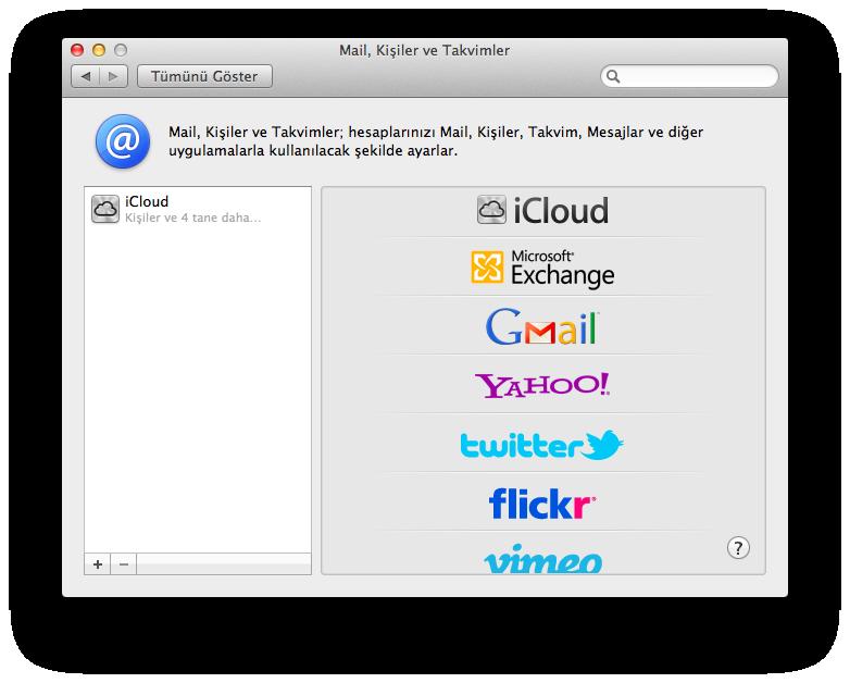 OS X Mountain Lion Hesaplar