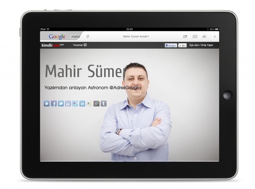Google iOS Uygulaması Ekran Görüntüsü