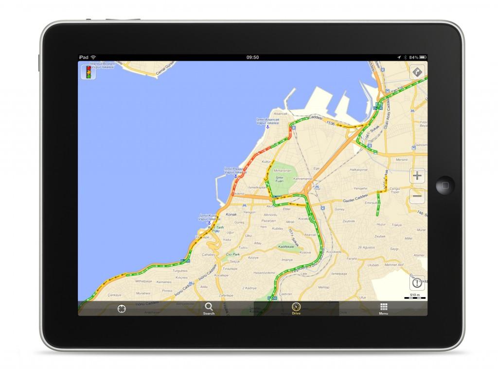 Yandex Trafik Uygulaması