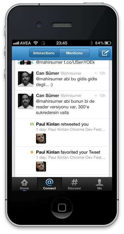 Yeni Twitter Uygulaması